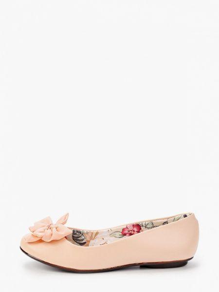 Балетки розовый Moleca
