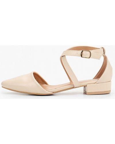 Кожаные бежевые туфли Sweet Shoes