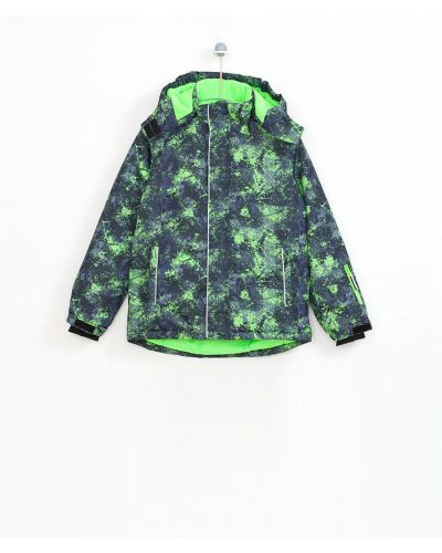 Куртка теплая зеленый Lemon Explore