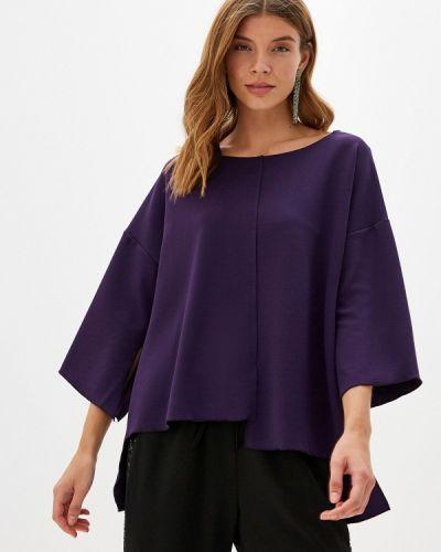 Блузка с длинным рукавом фиолетовый итальянский Perfect J