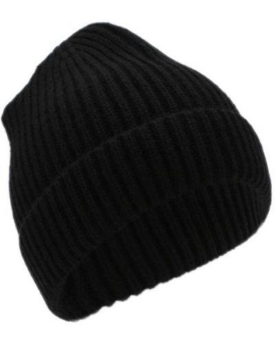 Черная шапка кашемировая Tsum Collection
