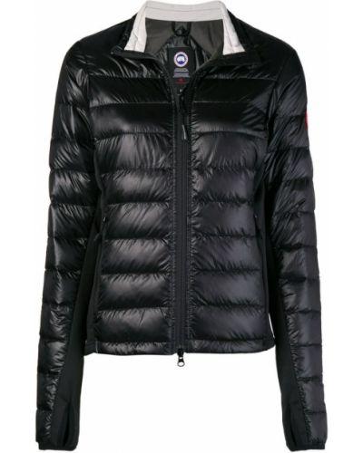 Стеганая куртка черная Canada Goose