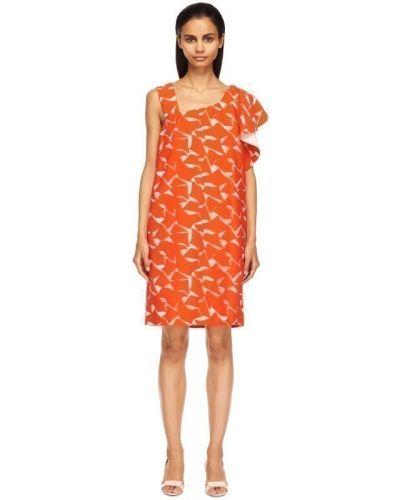 Оранжевое платье Viktor & Rolf