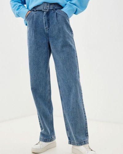 Синие зимние джинсы Befree