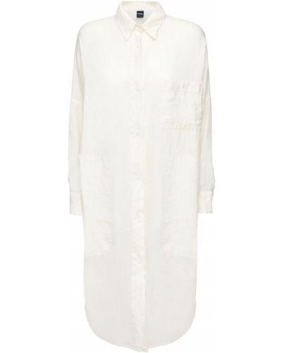 Платье на пуговицах с разрезами по бокам Max Mara