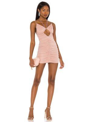 Sukienka mini srebrna Nbd
