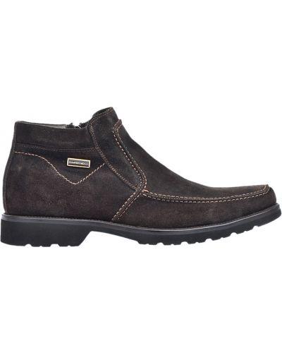 Ботинки осенние замшевые Giampiero Nicola