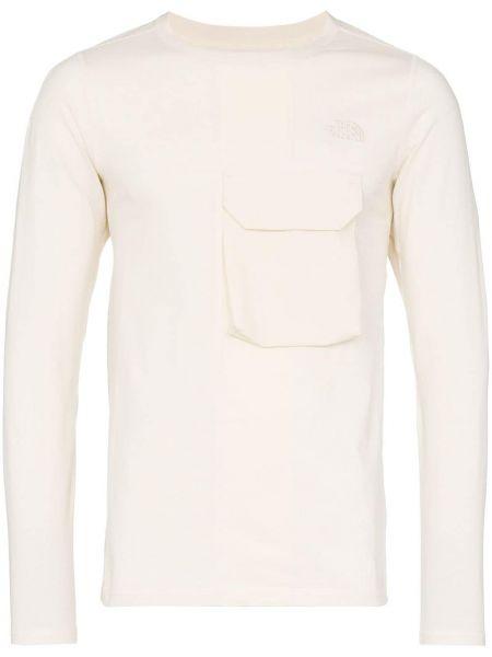 T-shirt bawełniana - biała The North Face Black Series