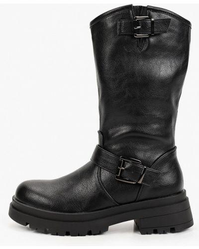 Черные резиновые сапоги Sweet Shoes