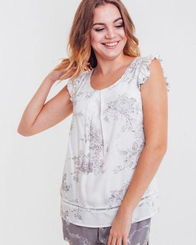 Пижама белая серая Mia-mella