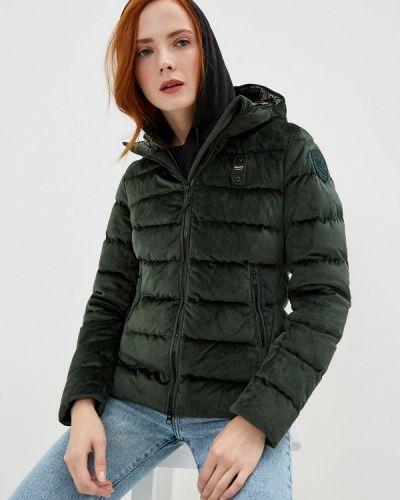 Зимняя куртка осенняя зеленая Blauer