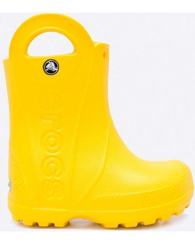 Сапоги желтый круглый Crocs