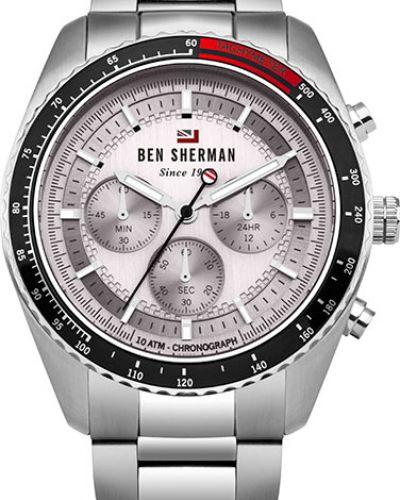 Часы водонепроницаемые серебряный Ben Sherman