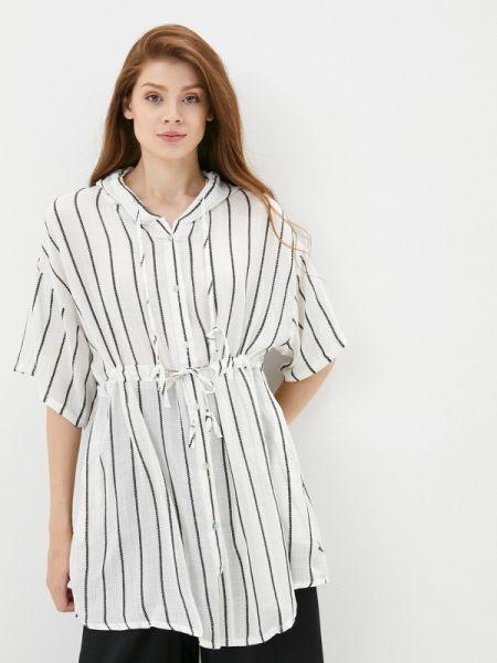 Пляжное белое пляжное платье B.style