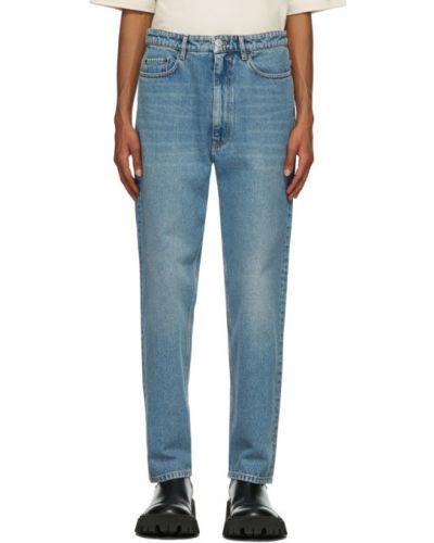 Прямые черные джинсы стрейч Balenciaga