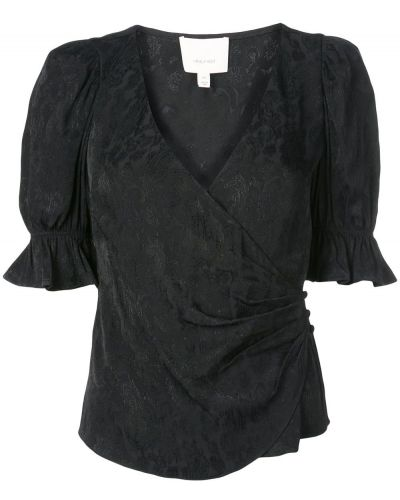 Блузка с запахом батник Cinq A Sept