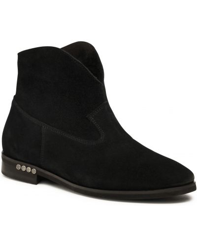 Czarny botki Badura