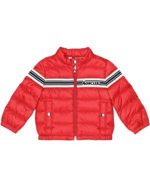 Пуховая классическая куртка Moncler Enfant