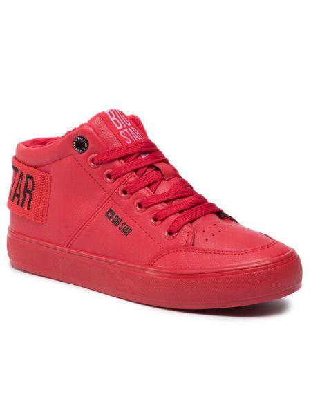 Czerwone sneakersy Big Star