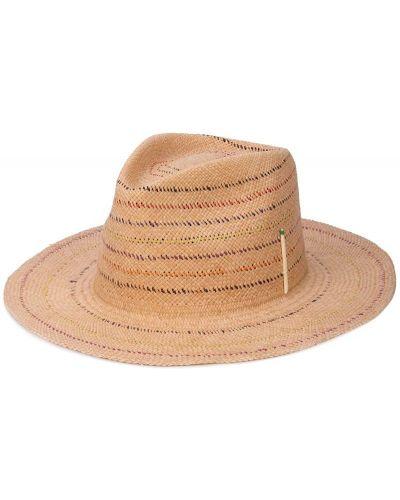 Бежевая шляпа классическая Nick Fouquet