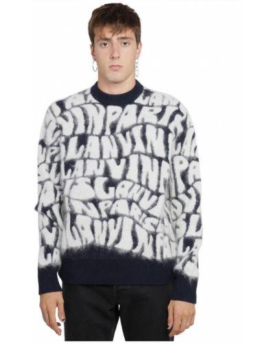 Niebieski sweter Lanvin