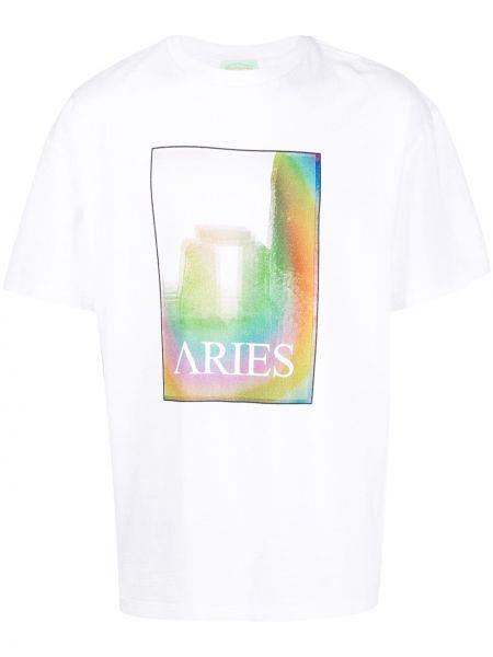 Koszula krótkie z krótkim rękawem z nadrukiem Aries