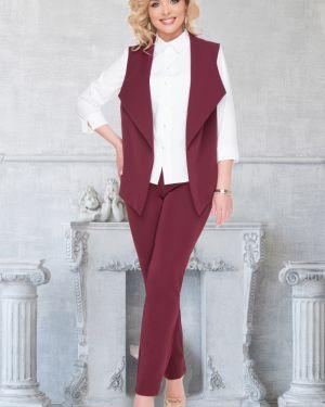 Брючный костюм без рукавов деловой Bellovera