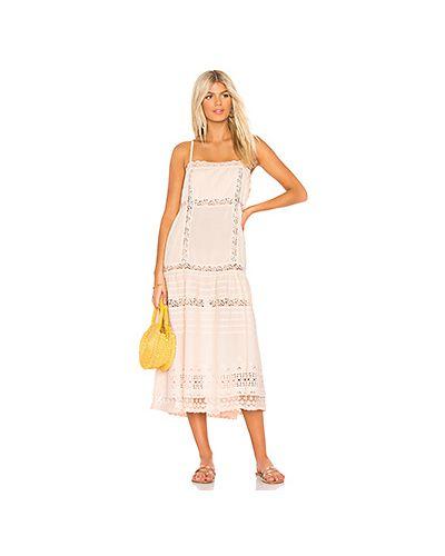 Платье с вышивкой ажурное Free People