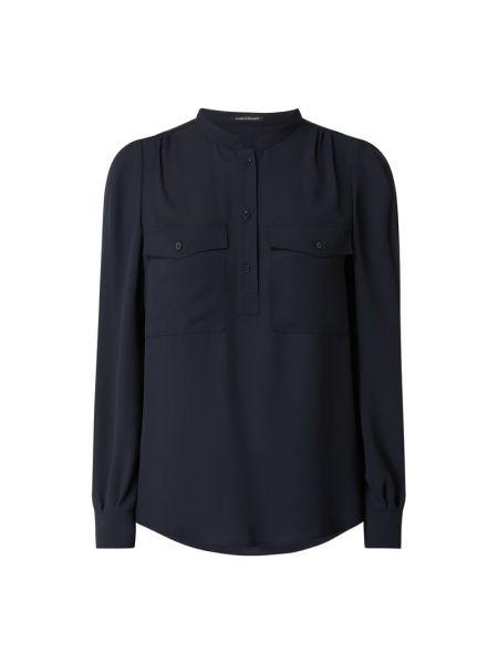 Niebieska bluzka z długimi rękawami Luisa Cerano