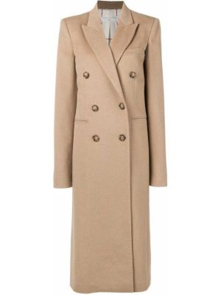 Długi płaszcz zimowy wełniany Victoria Beckham