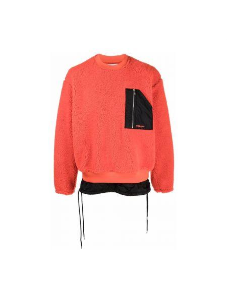 Pomarańczowy sweter Ambush