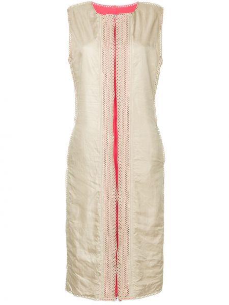 Расклешенное платье миди винтажное Issey Miyake Pre-owned