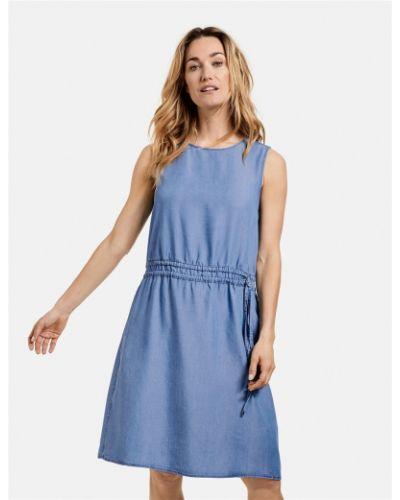 Голубое платье Gerry Weber