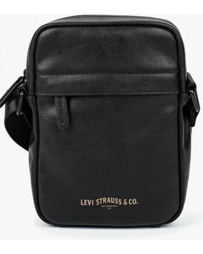 Сумка через плечо кожаная черный Levi's®