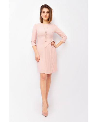 Платье с воротником - розовое Espiga