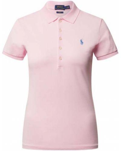 T-shirt bawełniana - różowa Polo Ralph Lauren