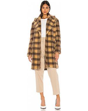 Пальто из овчины пальто Kendall + Kylie