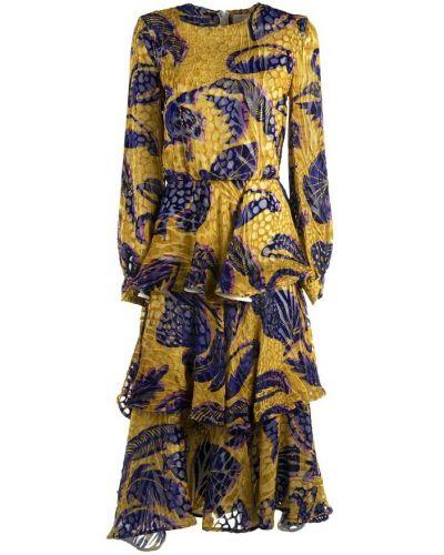 Żółta sukienka Stella Jean