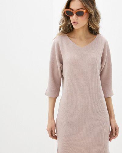 Розовое платье-свитер Mankato