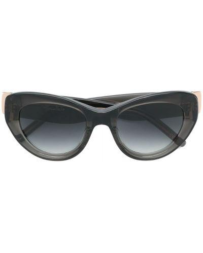 Солнцезащитные очки кошачий глаз металлические Pomellato