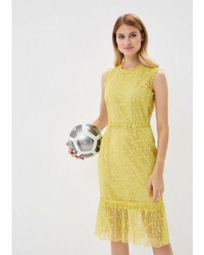 Желтое платье весеннее Ovs