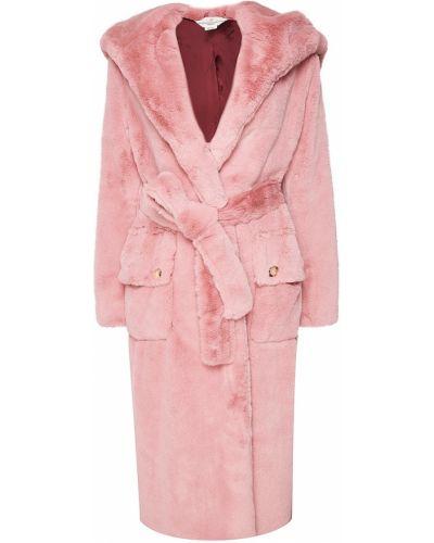 Пальто с капюшоном розовое пальто-халат Golden Goose Deluxe Brand