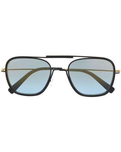 Черные солнцезащитные очки квадратные с завязками Dsquared2 Eyewear