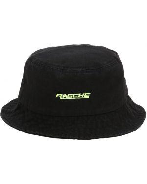 Czarny kapelusz bawełniany Tres Rasche