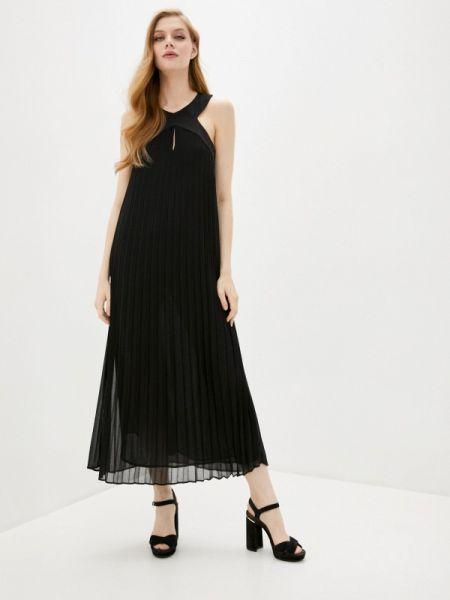Вечернее платье черное весеннее Liu Jo