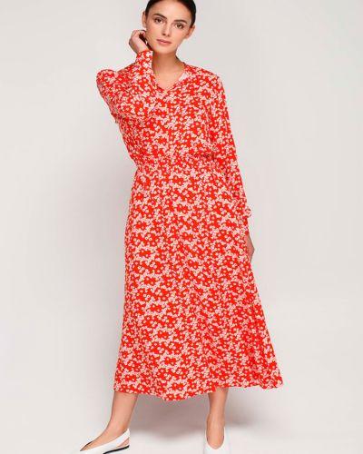 Повседневное платье-рубашка для офиса в цветочный принт Must Have