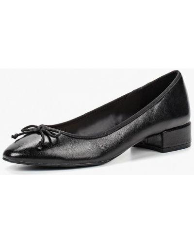 Туфли осенние кожаные Mango