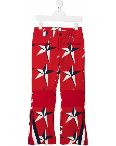 Spodnie z paskiem z nylonu z printem Perfect Moment Kids