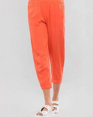 Коралловые брюки узкого кроя Maxa