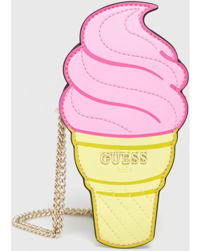 Сумка розовый Guess Jeans